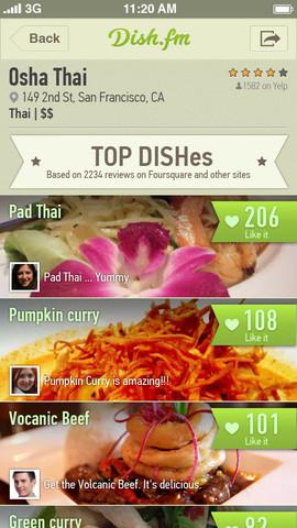 Dish.fm App screenshot