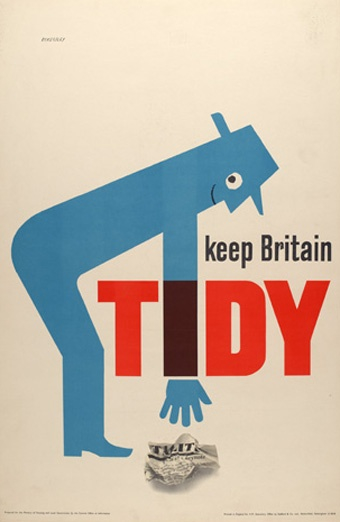 Old Keep Britain Tidy poster