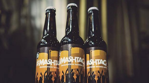 #MashTag Beer Bottle