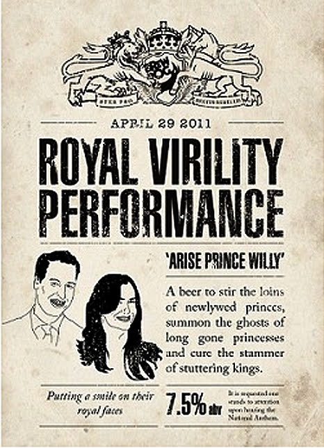 Royal Virility Performance Label