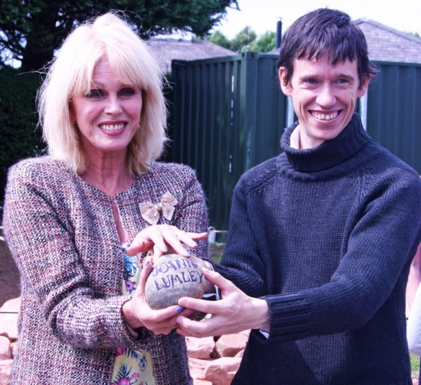 Rory Stewart MP and Joanna Lumley